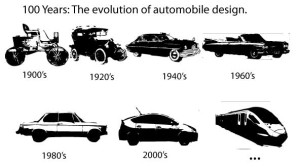 Cars changing in the future shouldn't be a surprise; they've always been transforming.
