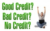 Good credit, bad credit and no credit auto loans