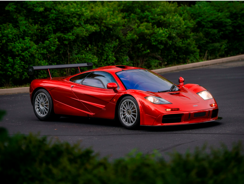 McLaren F1 Luxury Car Wyclef Jean