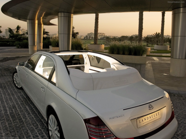 Maybach 62 Landaulet Luxury Car Birdman