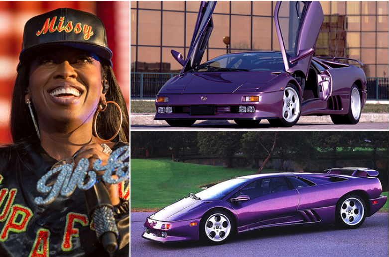 Missy Elliott Lamborghini Diablo Luxury Car