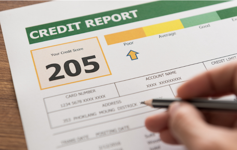 Bad credit report for car loan in Toronto