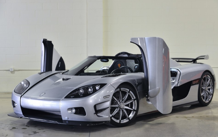 Koenigsegg CXXR Trevita expensive luxury car in diamond